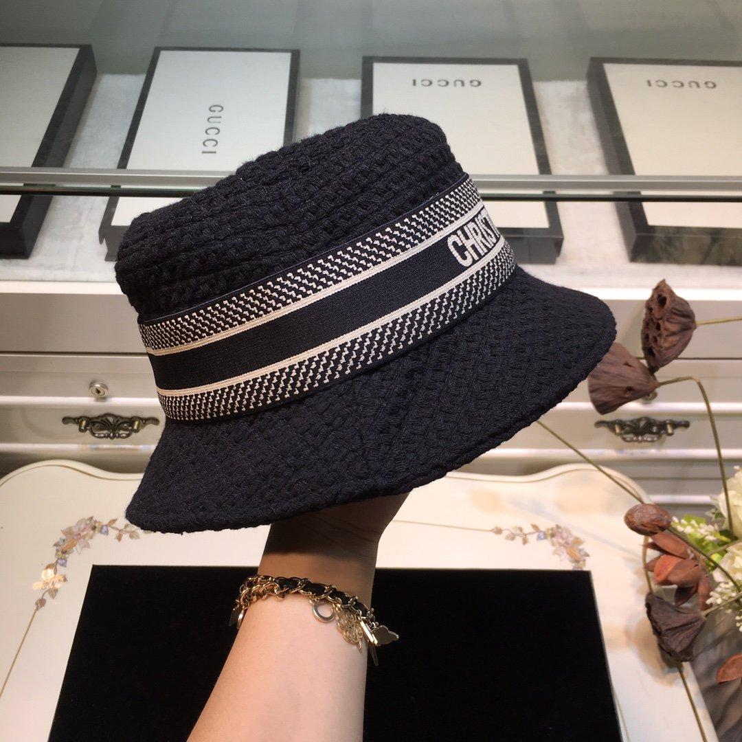 Dior迪奥 20早秋新款渔夫帽纯色编织系列(图2)