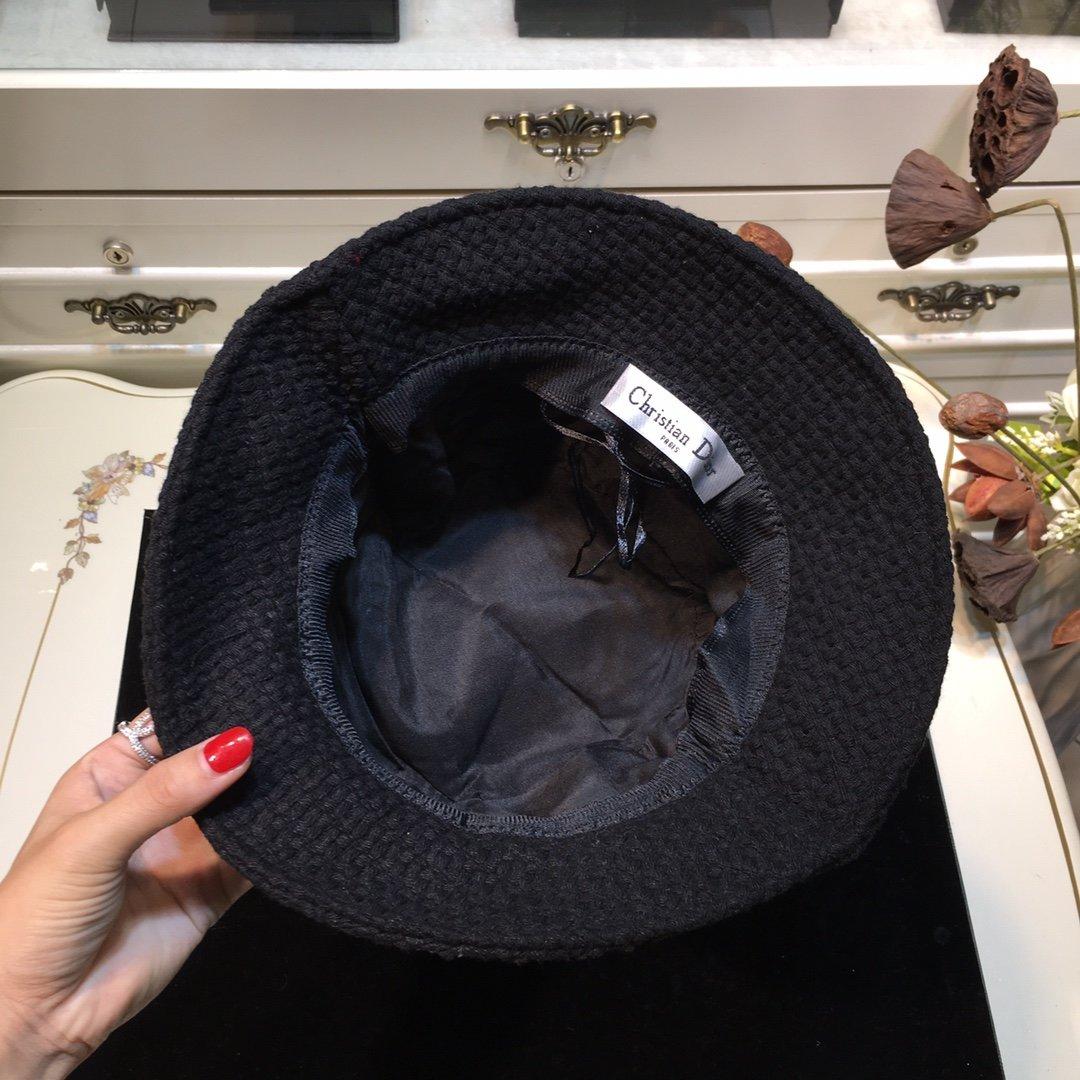 Dior迪奥 20早秋新款渔夫帽纯色编织系列(图8)