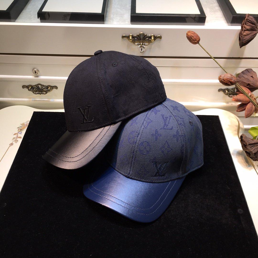 LouisVuitton路易威登 官网秋季新品棒球帽专柜同步(图1)
