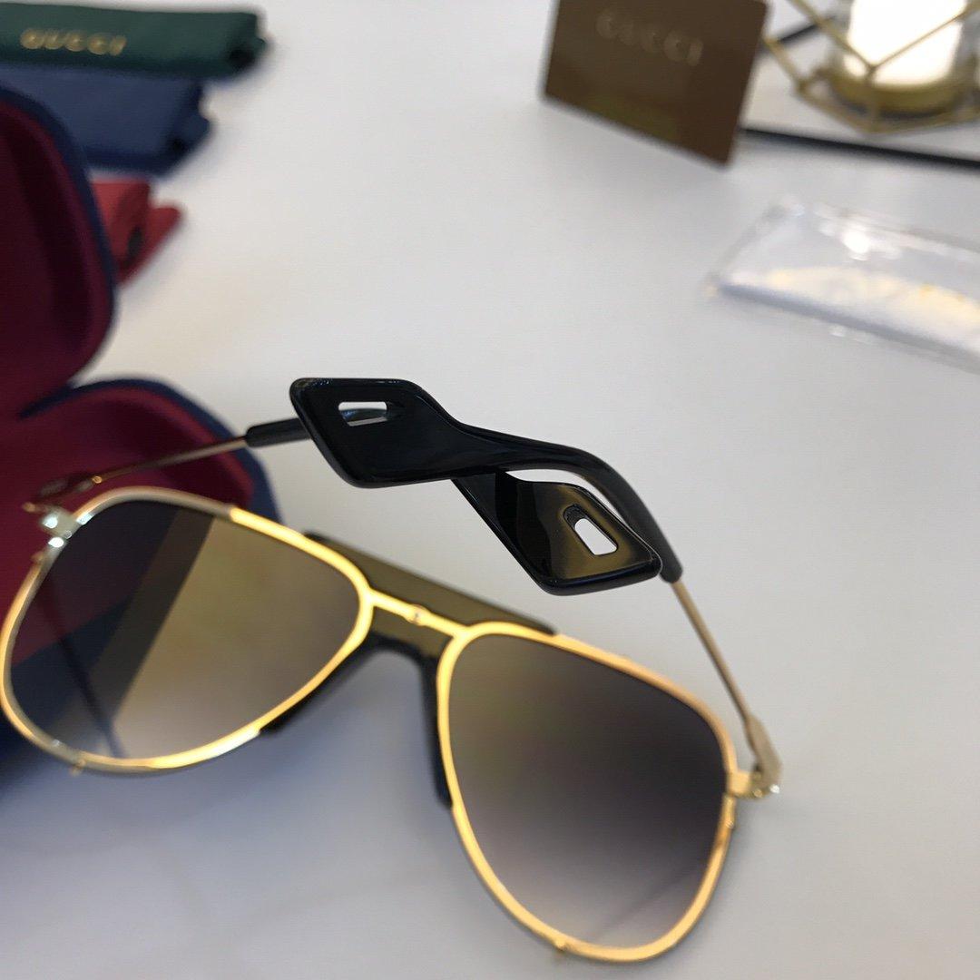 官网款 2020新款 GUCCi古家 GG0740S   超轻全框太阳眼镜(图8)
