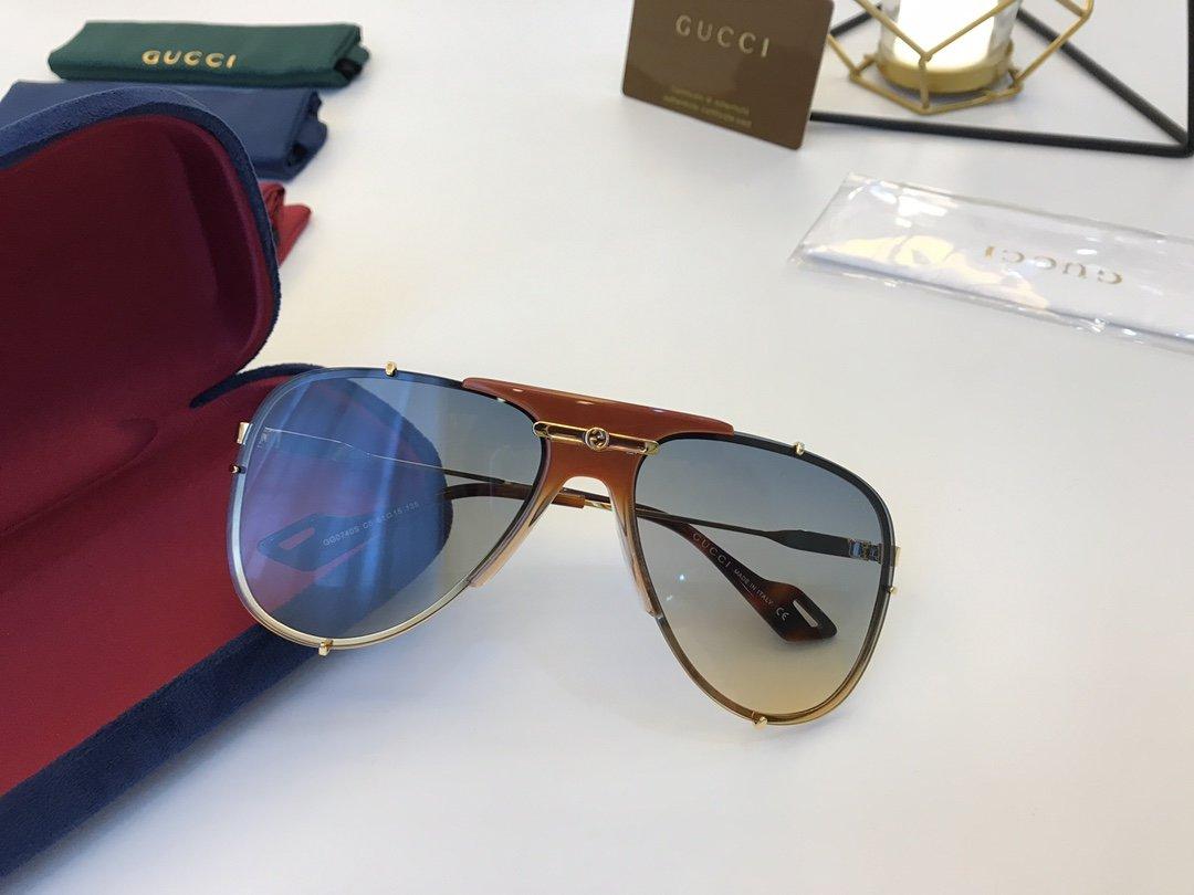 官网款 2020新款 GUCCi古家 GG0740S   超轻全框太阳眼镜(图3)