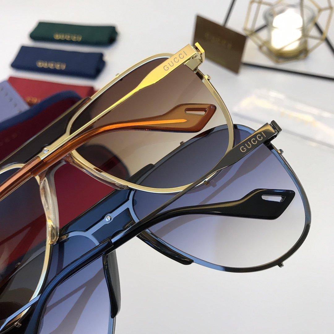 官网款 2020新款 GUCCi古家 GG0740S   超轻全框太阳眼镜(图9)