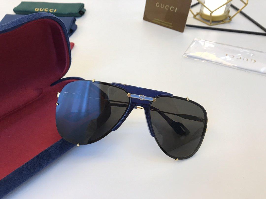 官网款 2020新款 GUCCi古家 GG0740S   超轻全框太阳眼镜(图4)