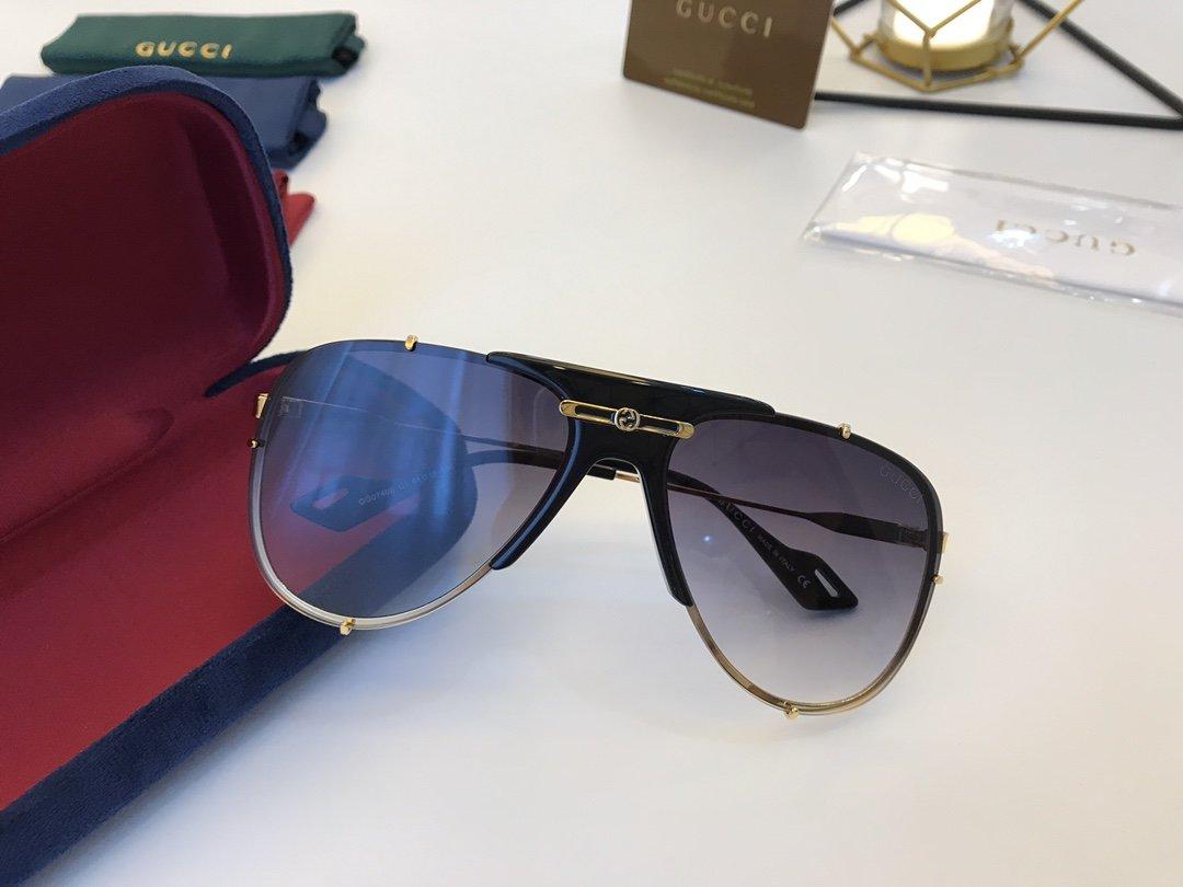 官网款 2020新款 GUCCi古家 GG0740S   超轻全框太阳眼镜(图6)