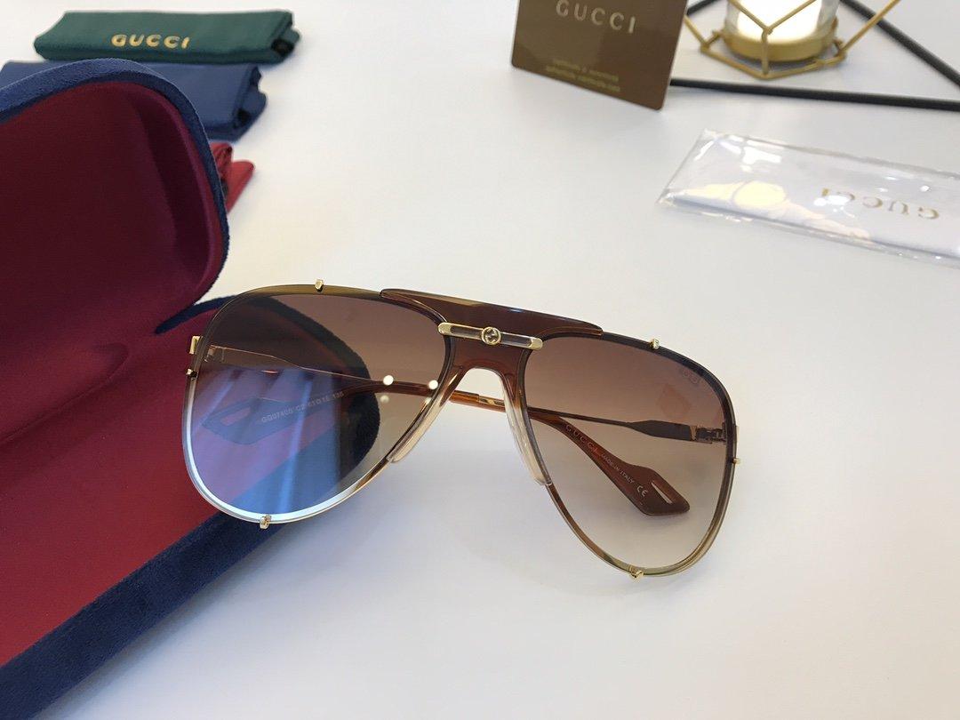 官网款 2020新款 GUCCi古家 GG0740S   超轻全框太阳眼镜(图7)