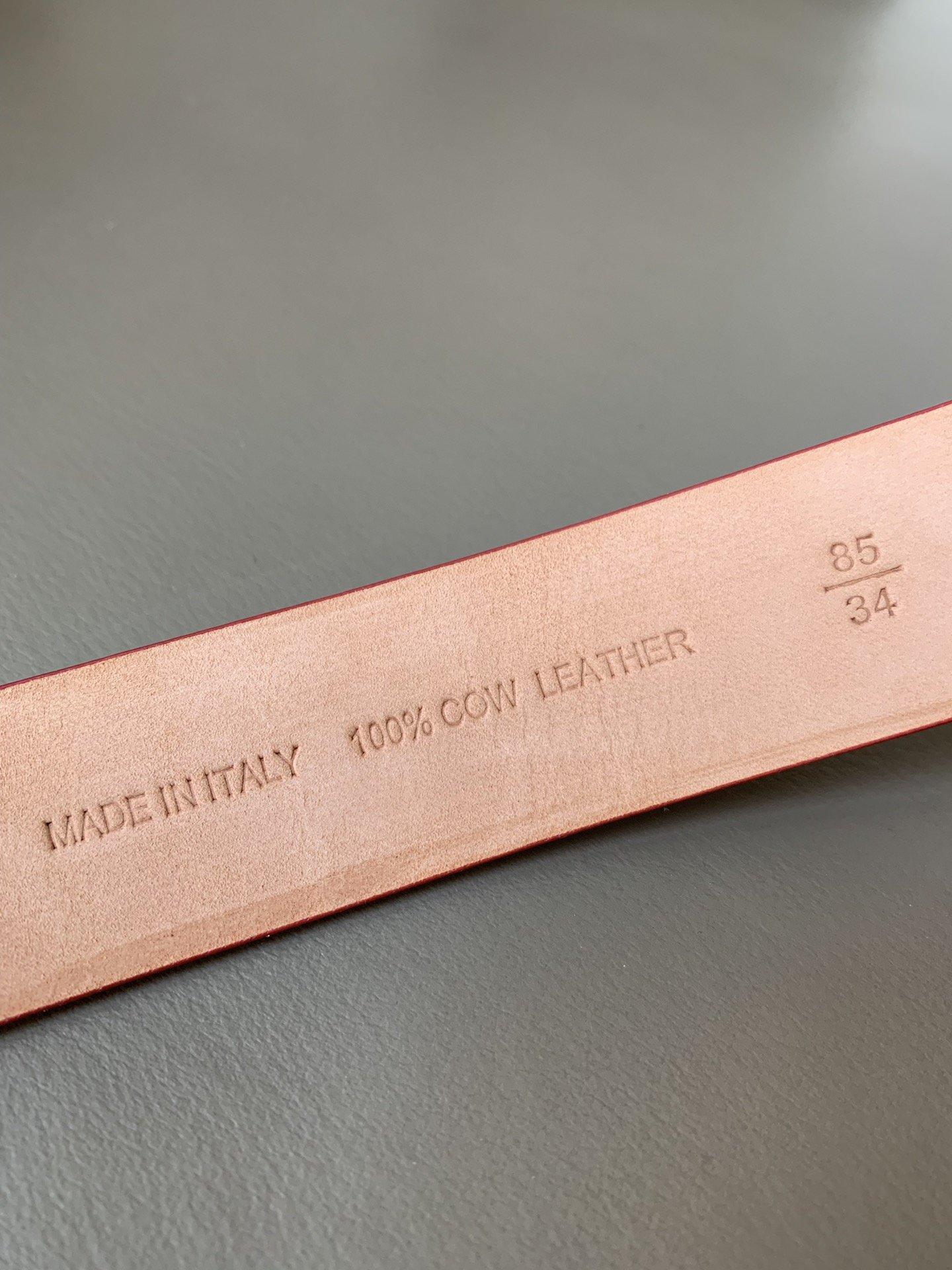 Chanel(香奈儿) 高端女士优雅腰带双C纯铜烤漆双面(图7)