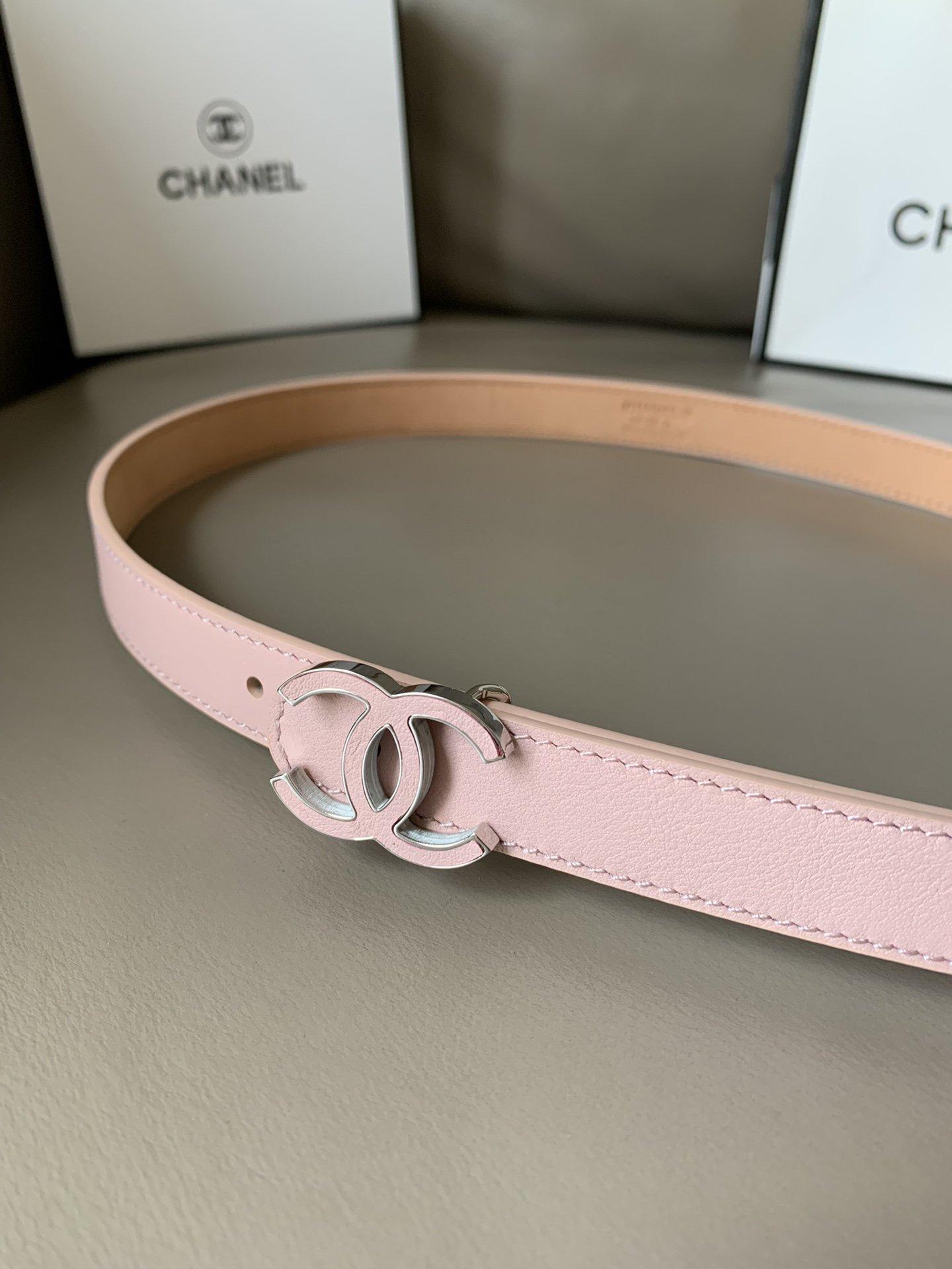 Chanel香奈儿专柜新款 高端女士休闲细腰带(图8)