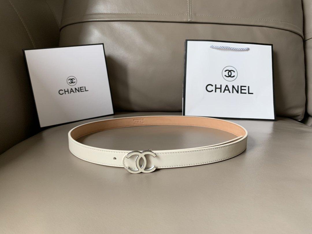 Chanel香奈儿专柜新款 高端女士休闲细腰带(图3)
