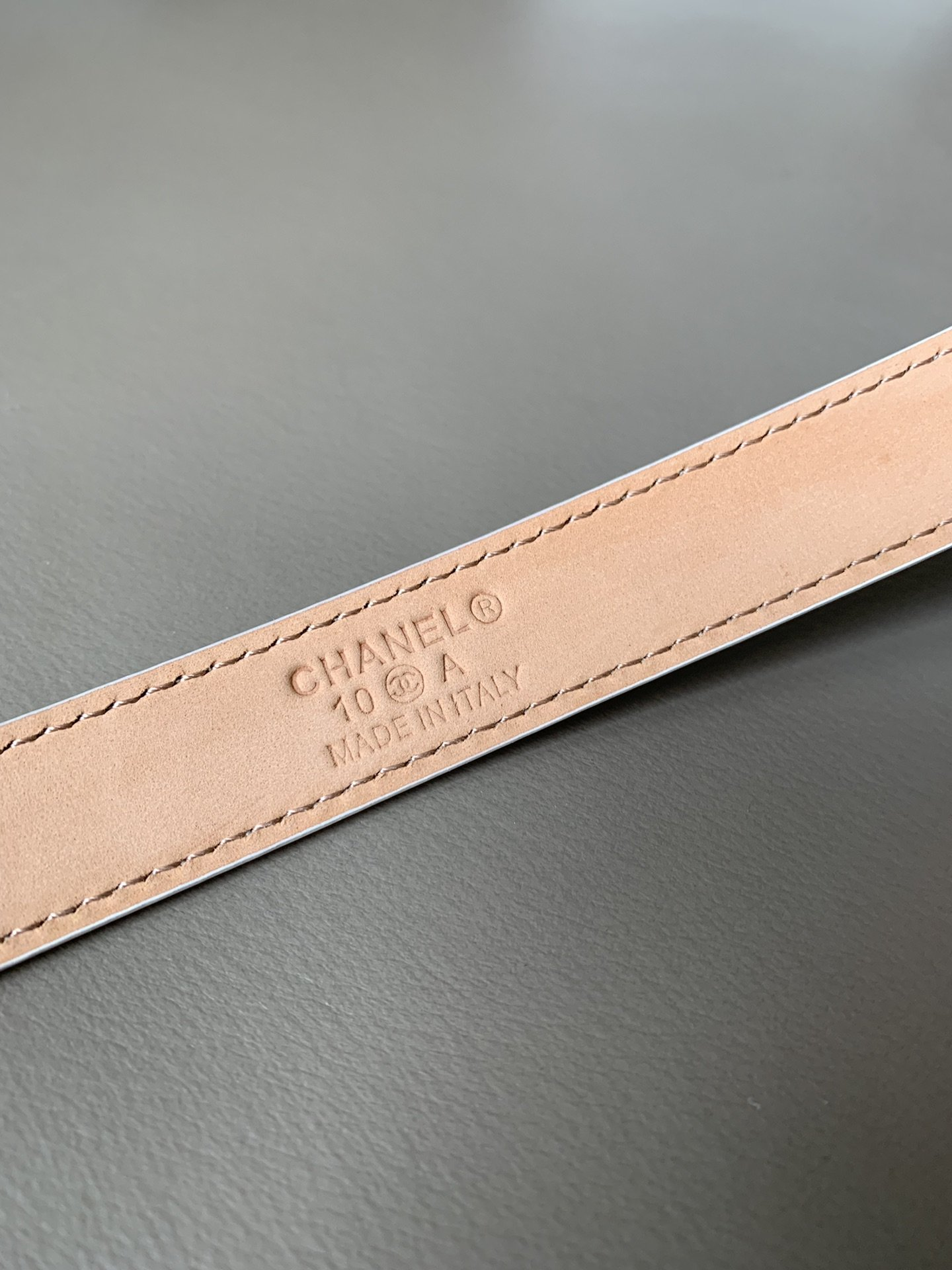 Chanel香奈儿专柜新款 高端女士休闲细腰带(图5)