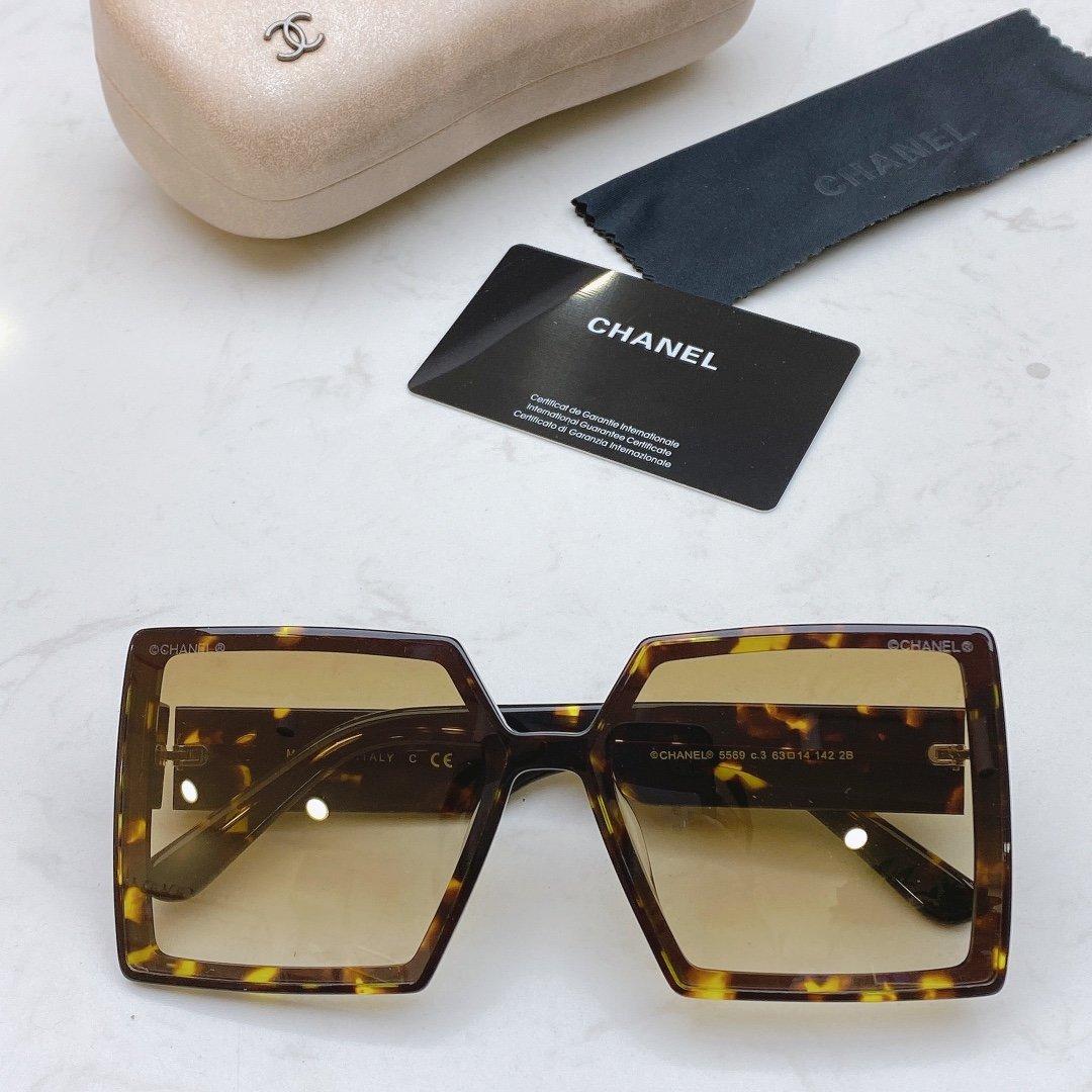 CHANEL香奈儿 CH5569  凹造型首选太阳眼镜