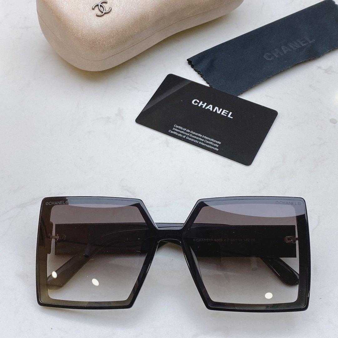 CHANEL香奈儿 CH5569  凹造型首选太阳眼镜 (图11)