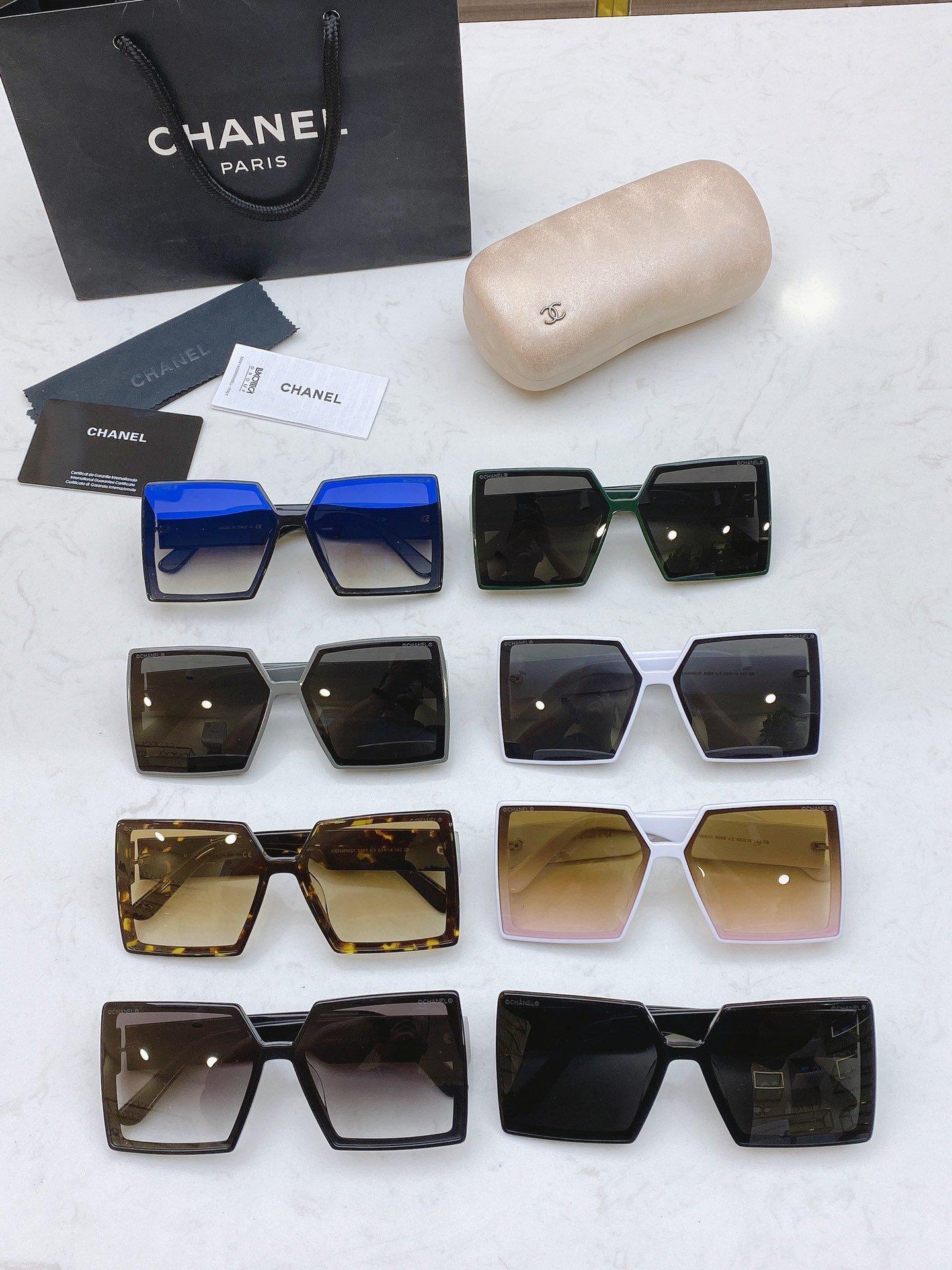CHANEL香奈儿 CH5569  凹造型首选太阳眼镜 (图8)