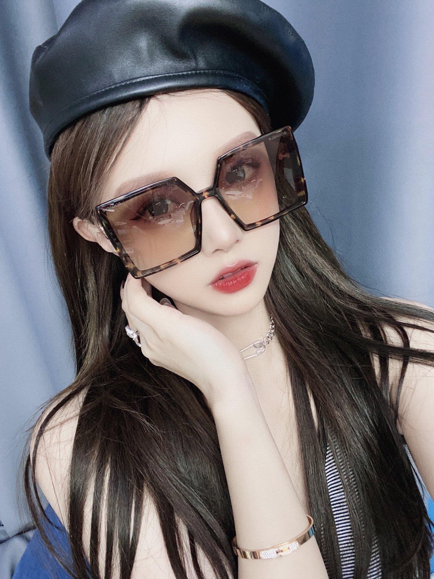 CHANEL香奈儿 CH5569  凹造型首选太阳眼镜 (图7)