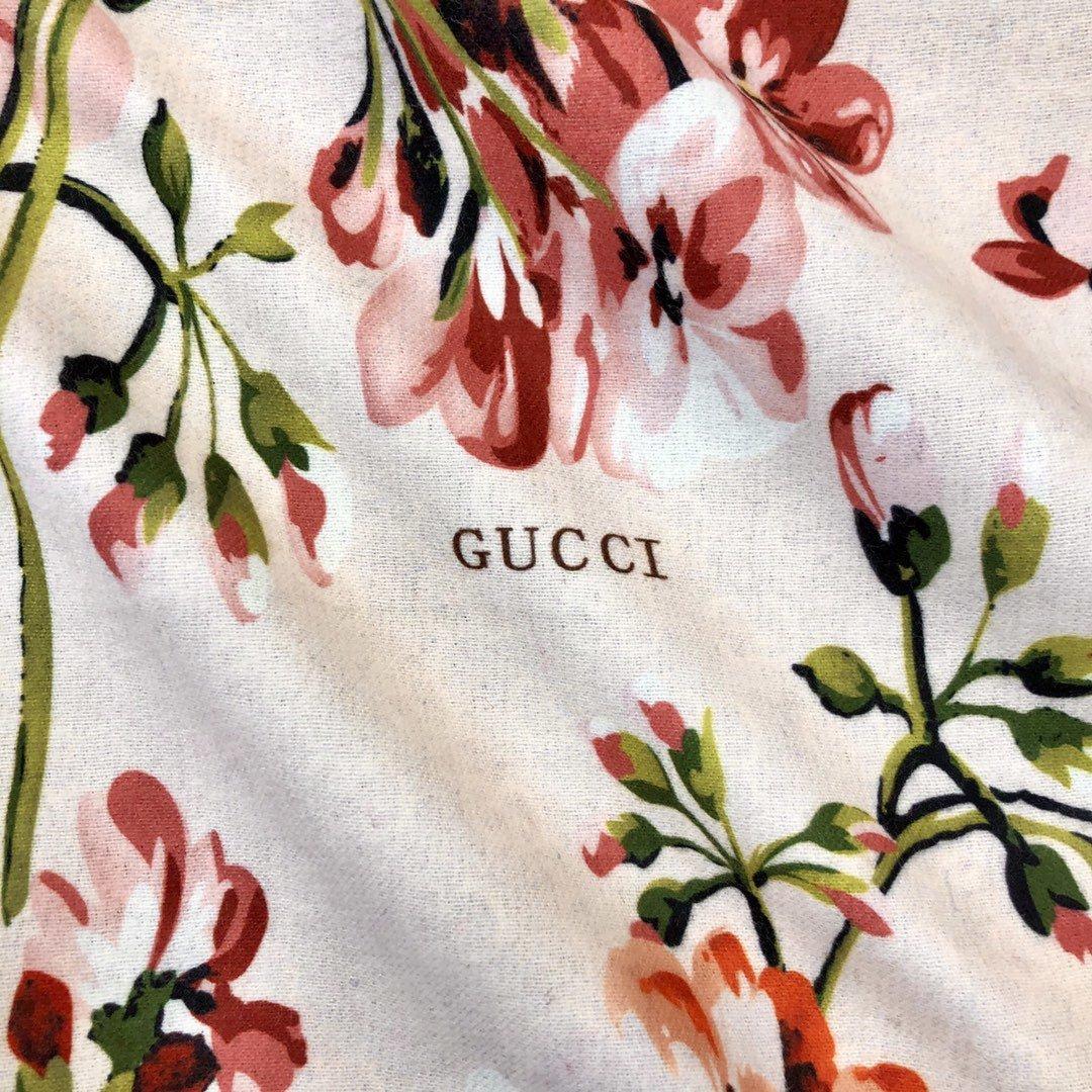 gucci真丝围巾印花图案 专柜同款(图6)