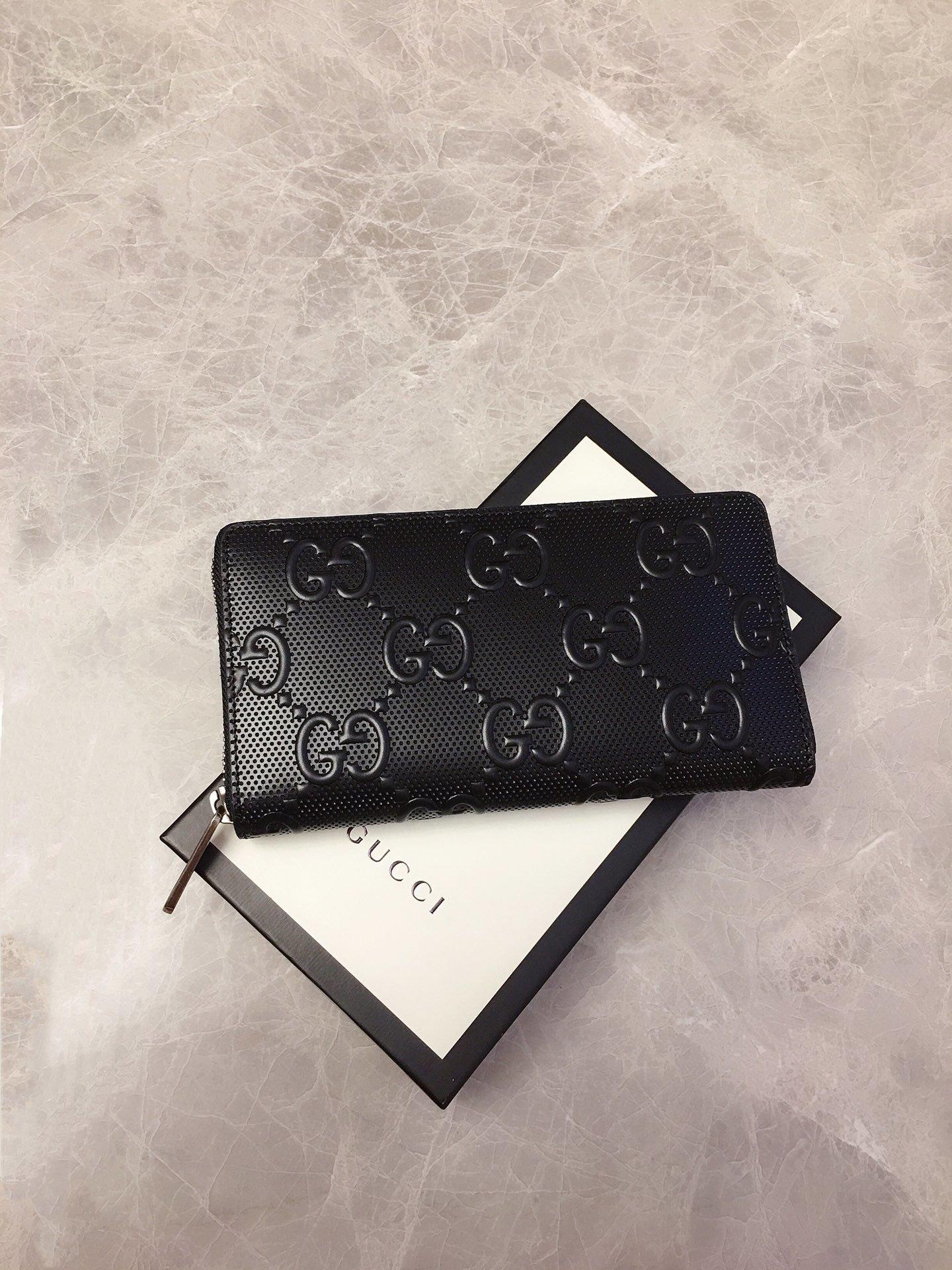 Gucci2020早秋新款钱包双G压花(图3)