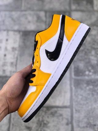 """耐克 Nike Air Jordan 1 Low """"Laser Orange"""" 白橙 AJ1 乔1 低帮潮流缓震运动休闲板鞋"""