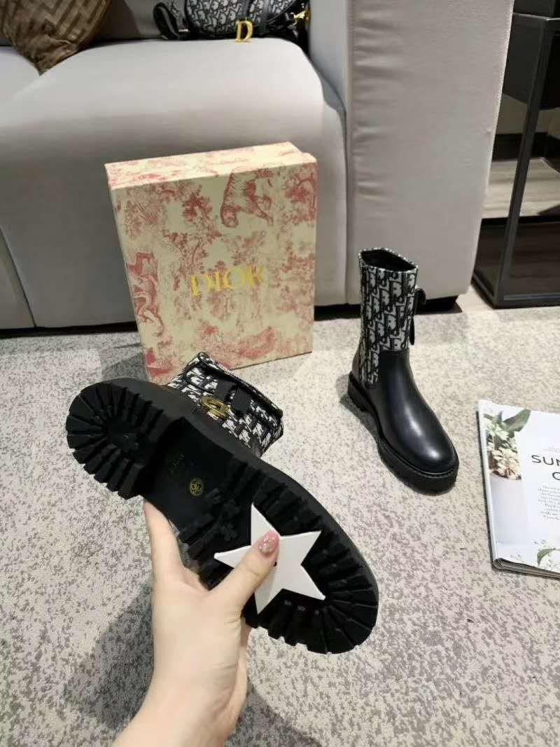"DOR.迪奥8寸长靴Crusie""J"