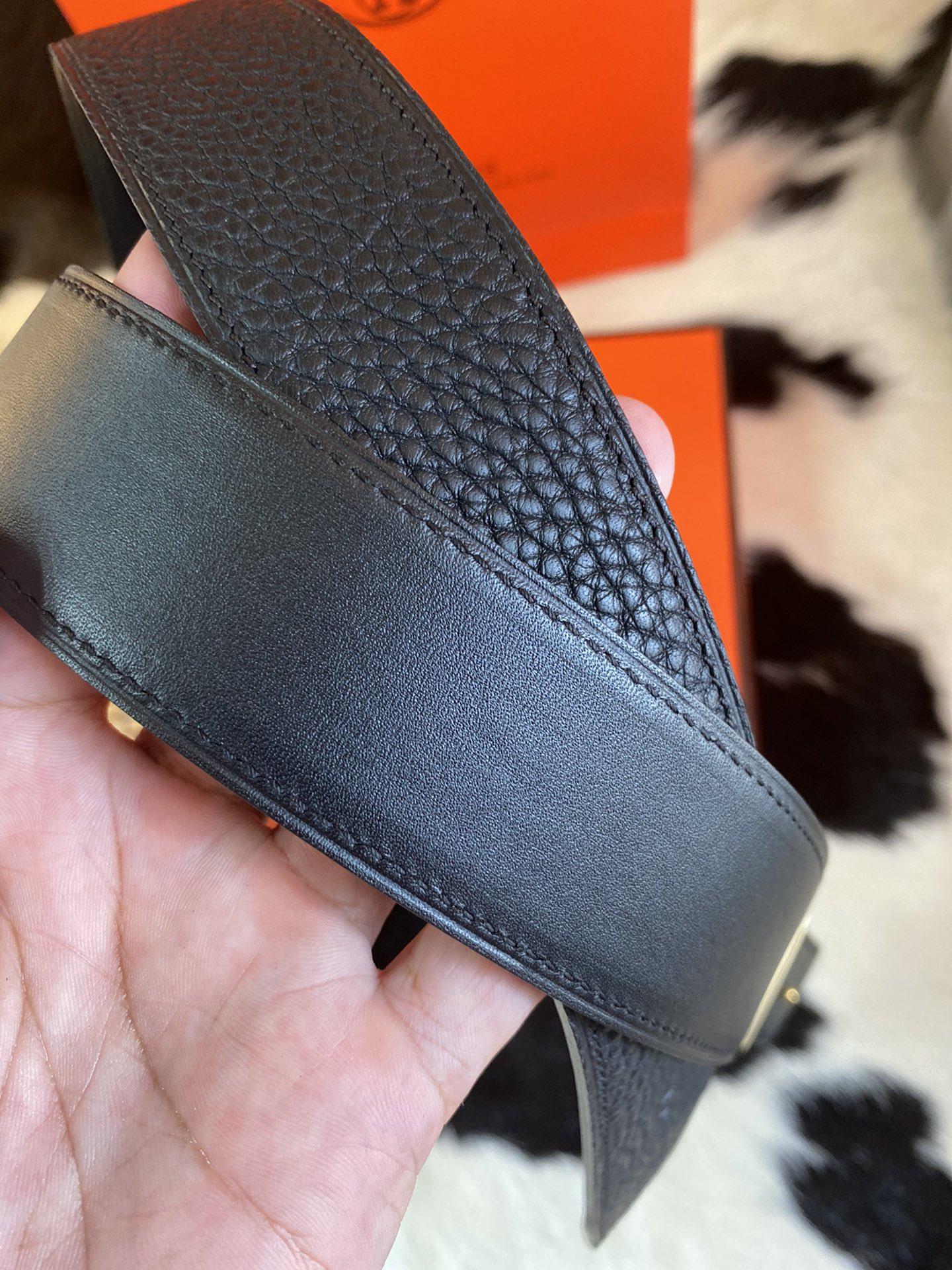 Hermes 2020 年全新升级版 双面togo皮 腰带 38mm(图8)