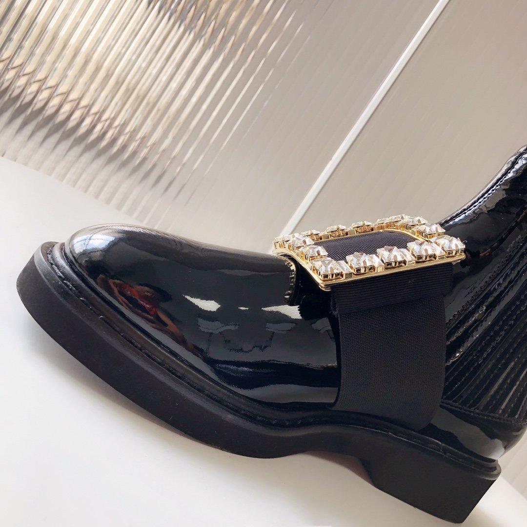 Roger Vivier 切尔西短靴 钻扣/钻扣(图8)