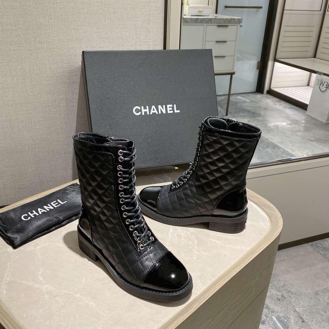 Chanel香奈儿马丁靴獨家巨献高端