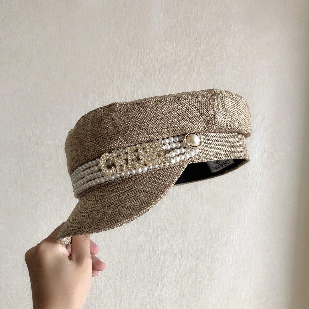 香奈儿Chanel高端定制最新军帽八