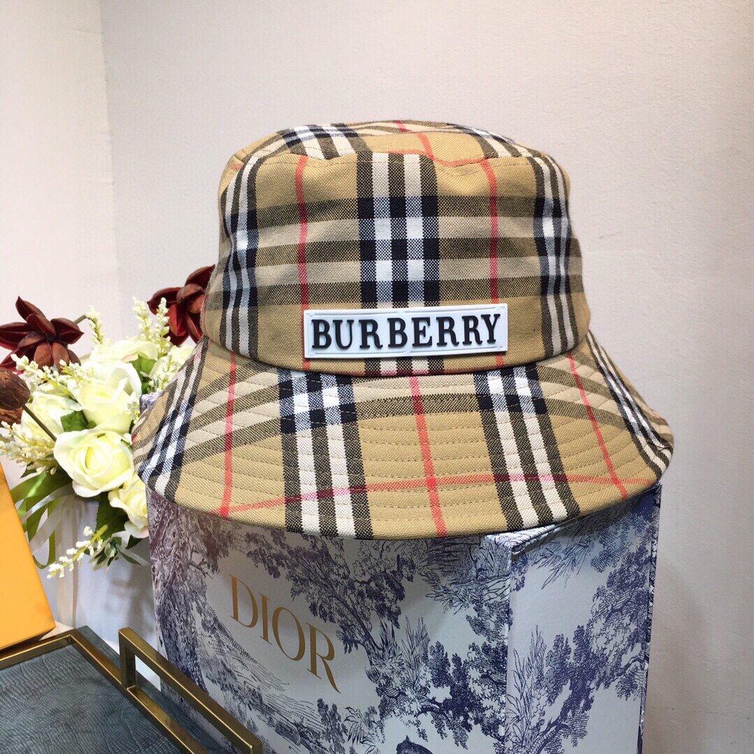 上新巴宝莉BuRBERRY新款渔夫帽
