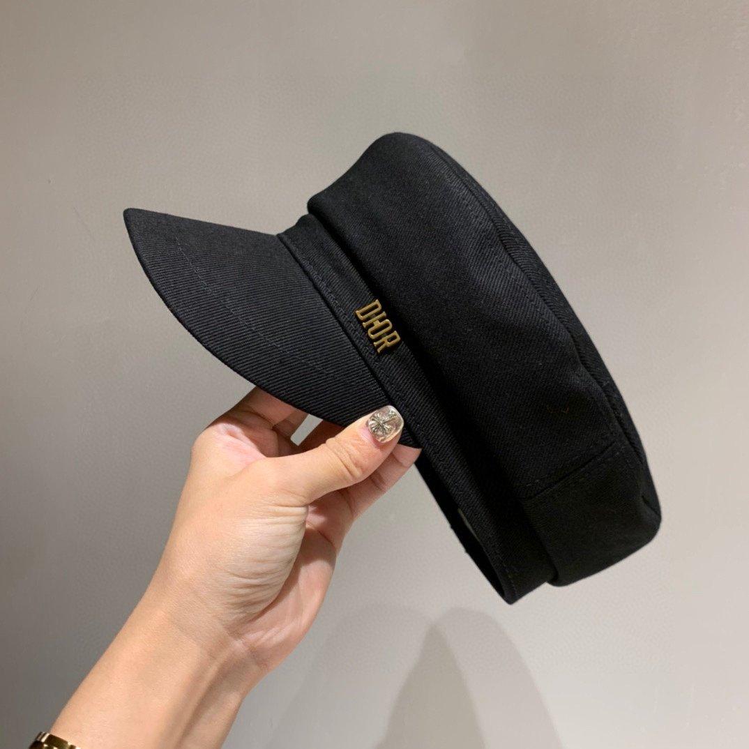 Dior迪奥正品开模军帽走秀款军帽原