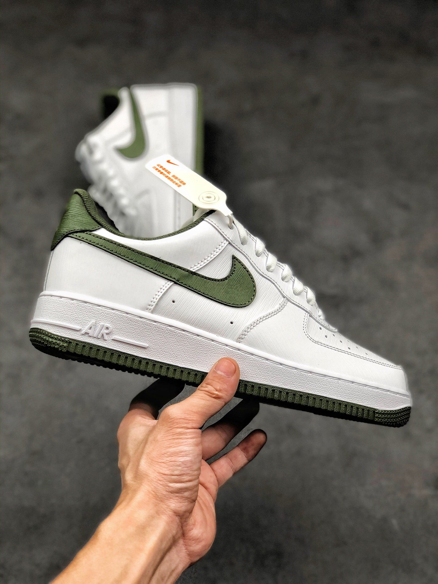 公司级 高仿耐克 Nike Air Force 1 Low 牛油果绿 空军一号低帮百搭休闲运动板鞋