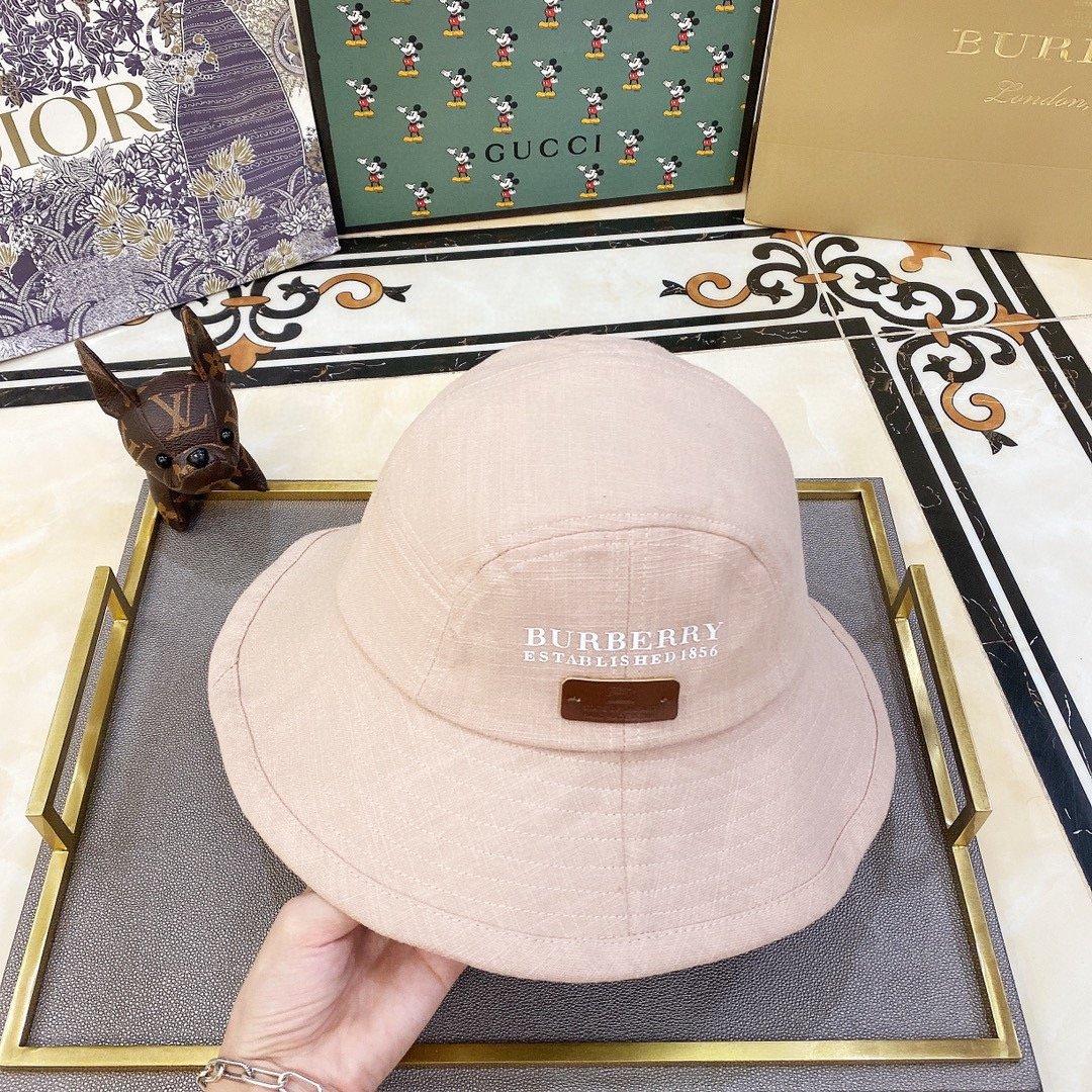 特巴宝莉2020新款简约款渔夫帽可折