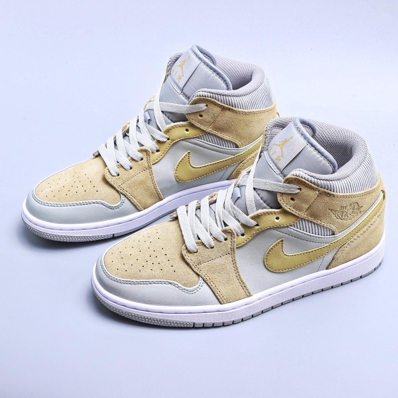 高仿Air Jordan 1 Mid AJ1 中帮篮球鞋