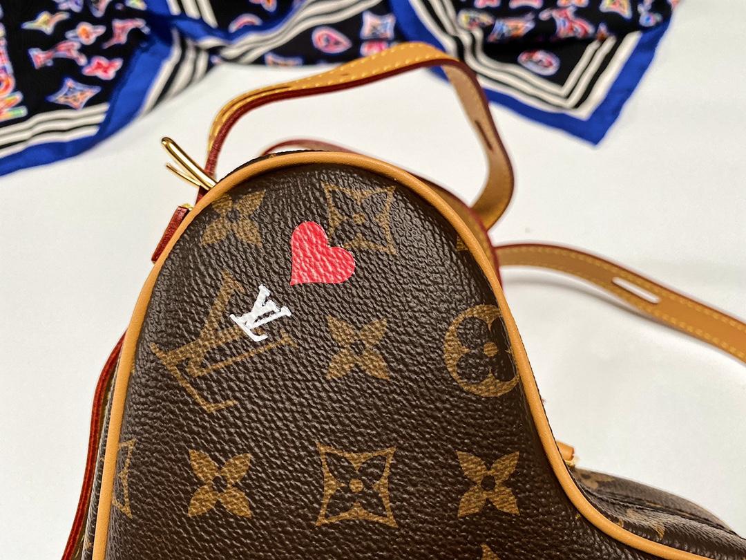 LV Heart Bag爱心系列 Monogram老花 M45150(图7)
