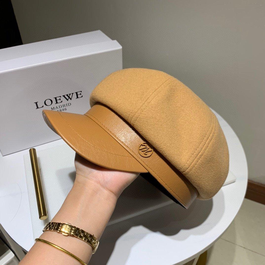 Chanel小香羊皮八角帽众多明星同