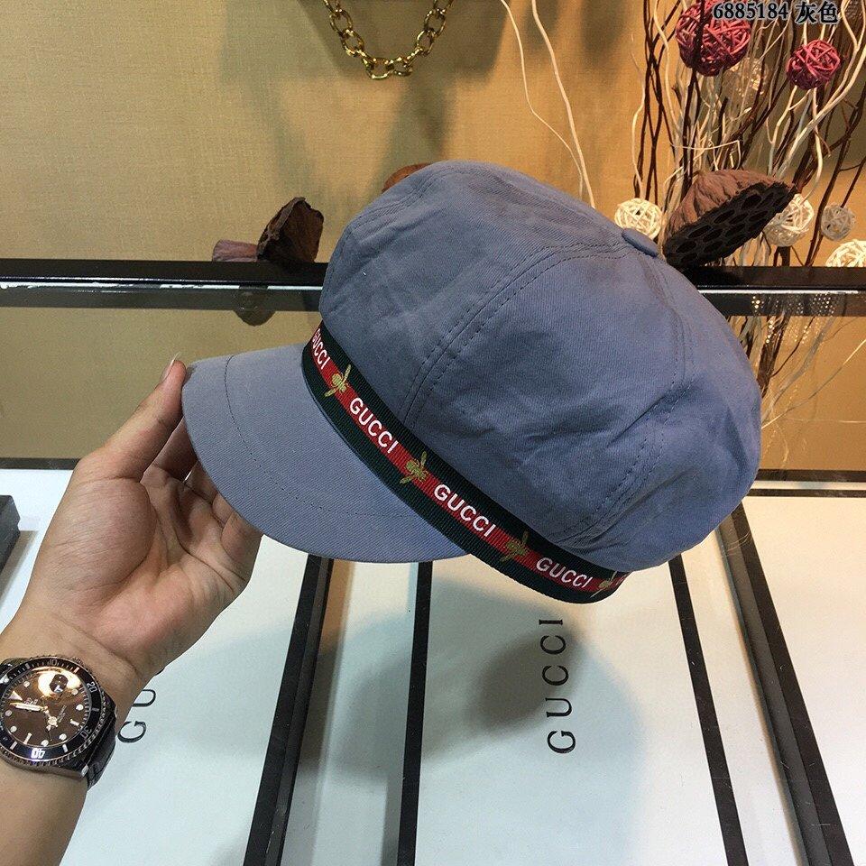 Gucci古奇2020新款款八角帽非