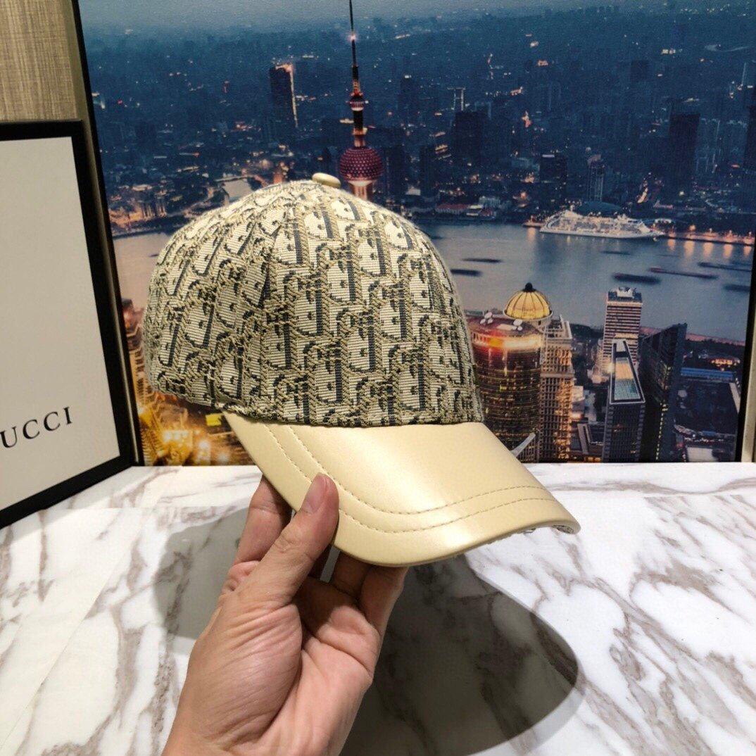 Dior迪奥新款原单棒球帽Dior老