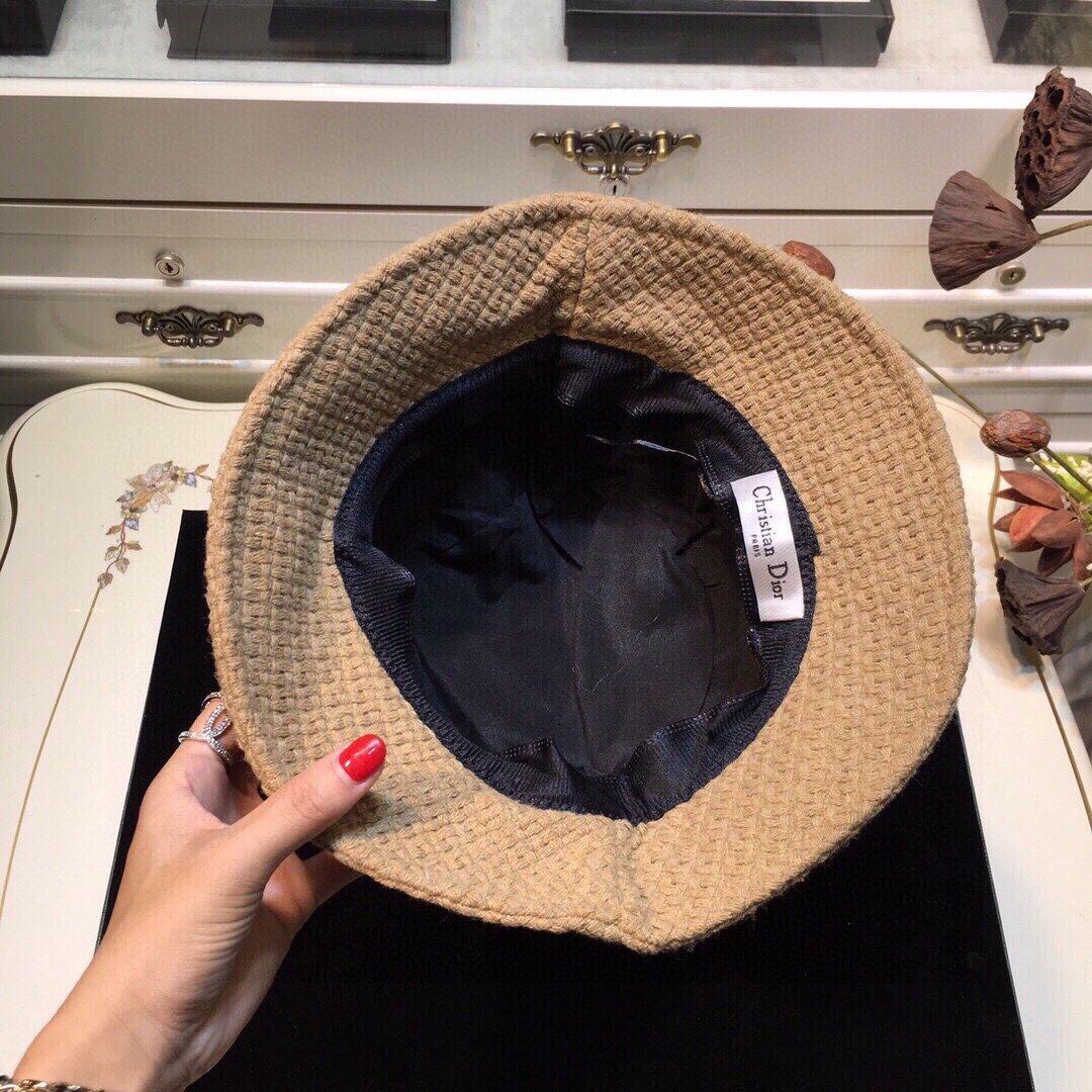 上新Dior迪奥20早秋新款渔夫帽纯