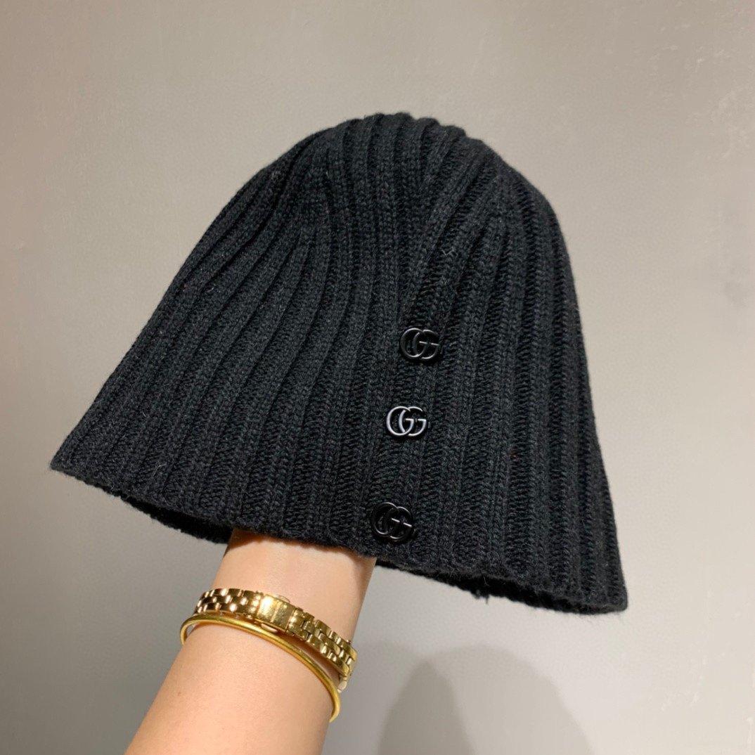 Gucci古奇2020秋季新款毛线帽