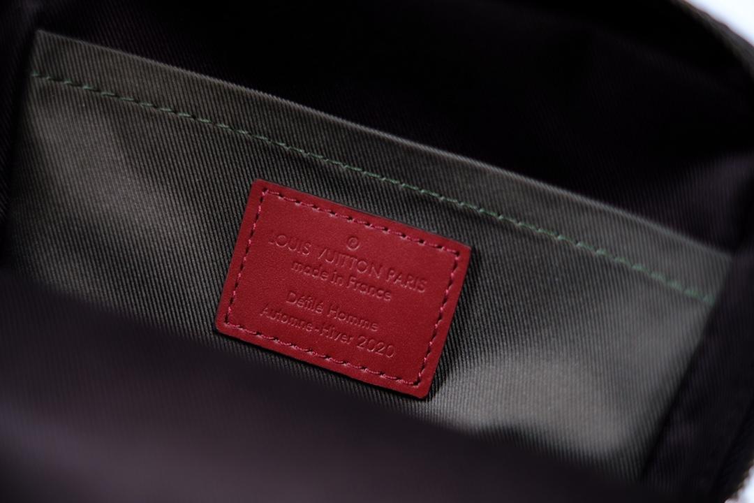 lv路易威登 AMAZONE 胸包系列 M45439小黑花 (图9)