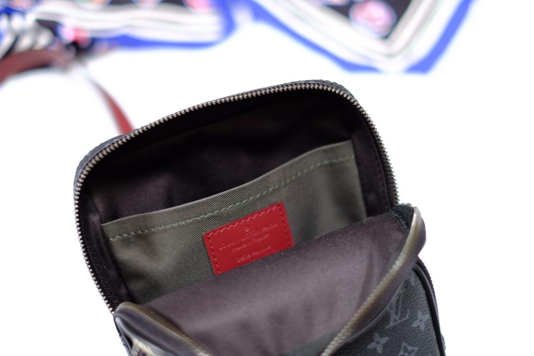 lv路易威登 AMAZONE 胸包系列 M45439小黑花 (图6)