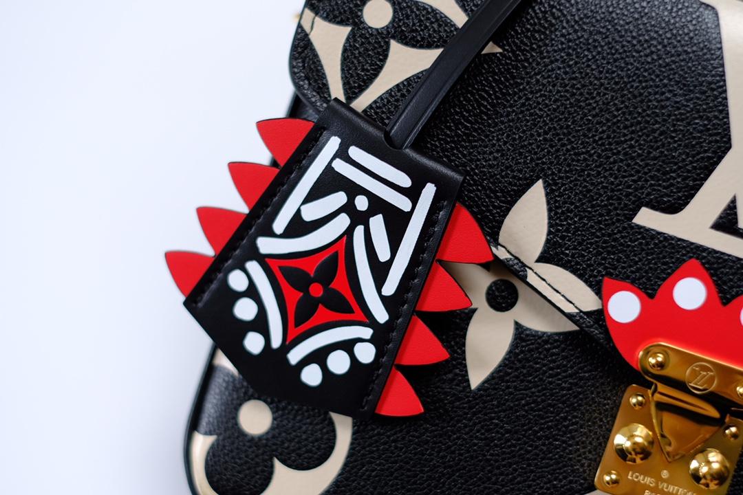 LV/路易威登 M45384 Pochette Métis 手袋压纹Monogram 印花(图16)