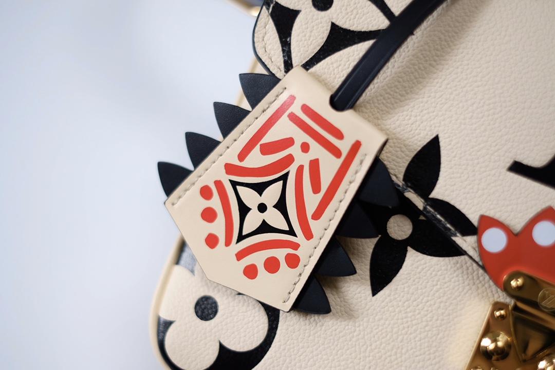 LV/路易威登 M45384 Pochette Métis 手袋压纹Monogram 印花(图10)