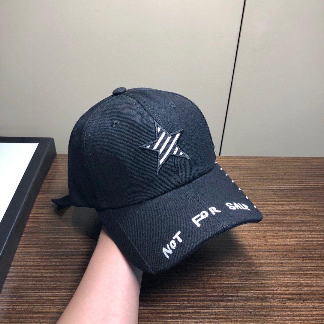国潮风SMFK联名款字母刺绣棒球帽时