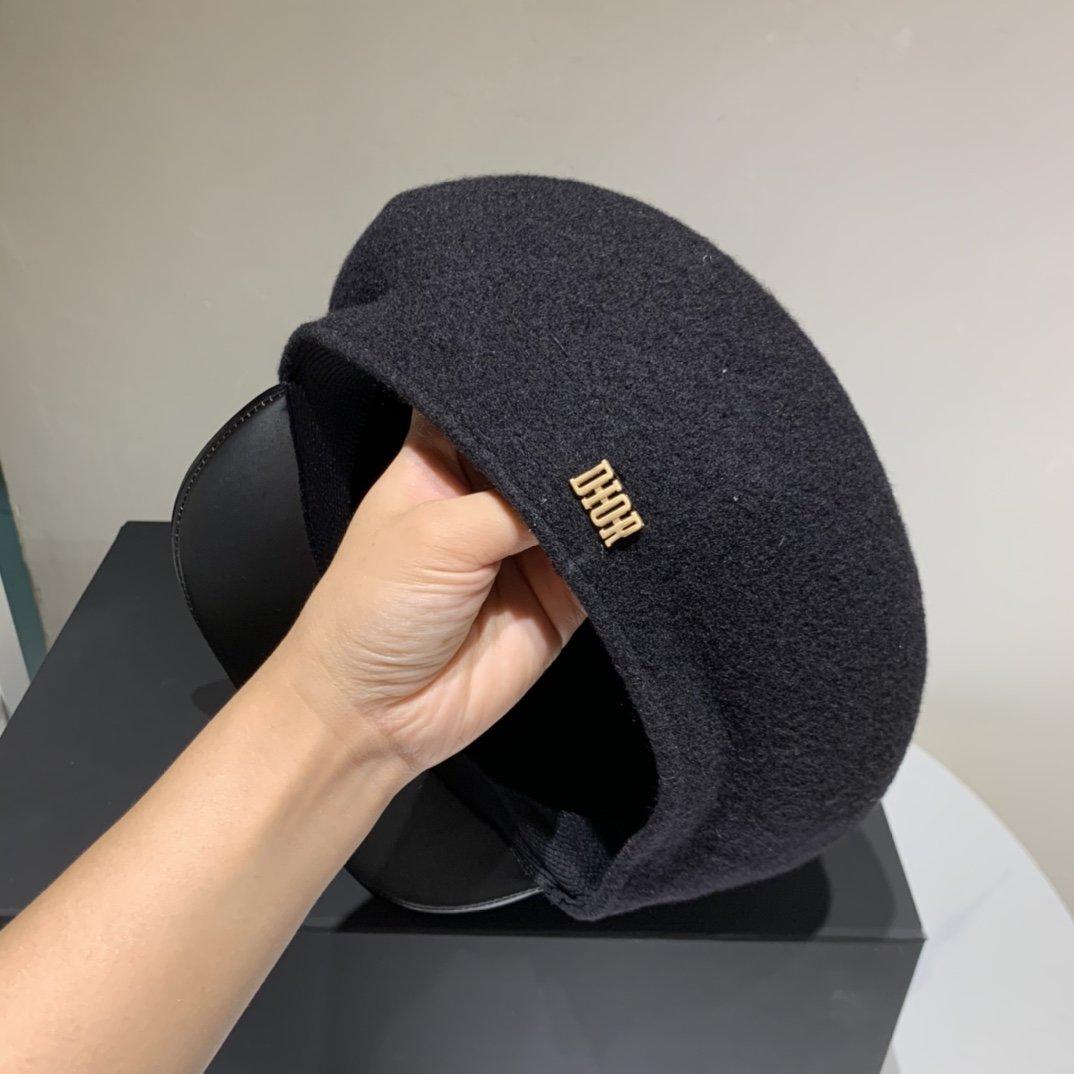 Dior迪奥2020秋冬新款羊毛鸭舌