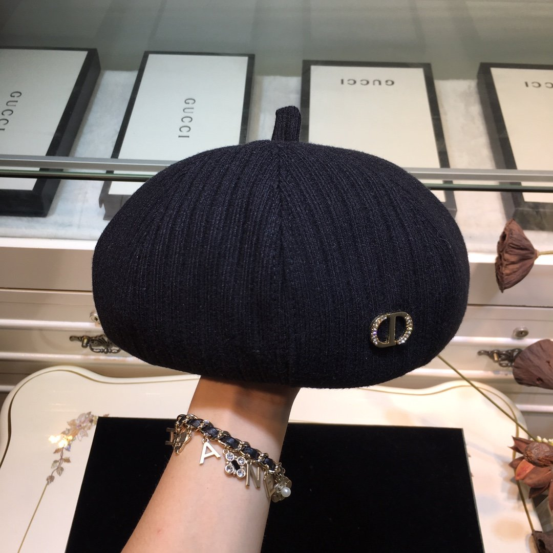上新Dior迪奥CD秋季新品贝雷帽必