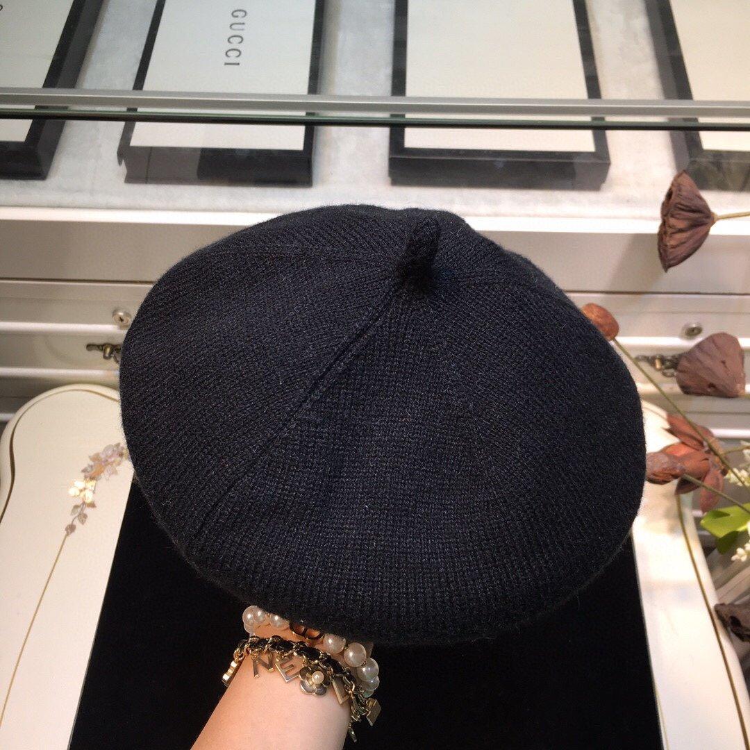 上新CHANEL香奈儿贝雷帽完美的帽
