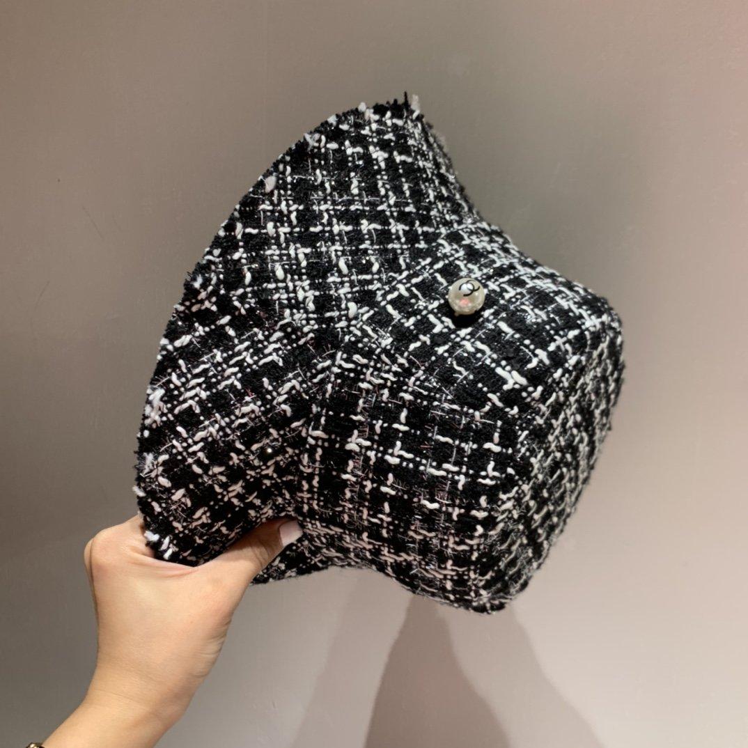 Chanel香奈儿秋季新款渔夫帽名媛