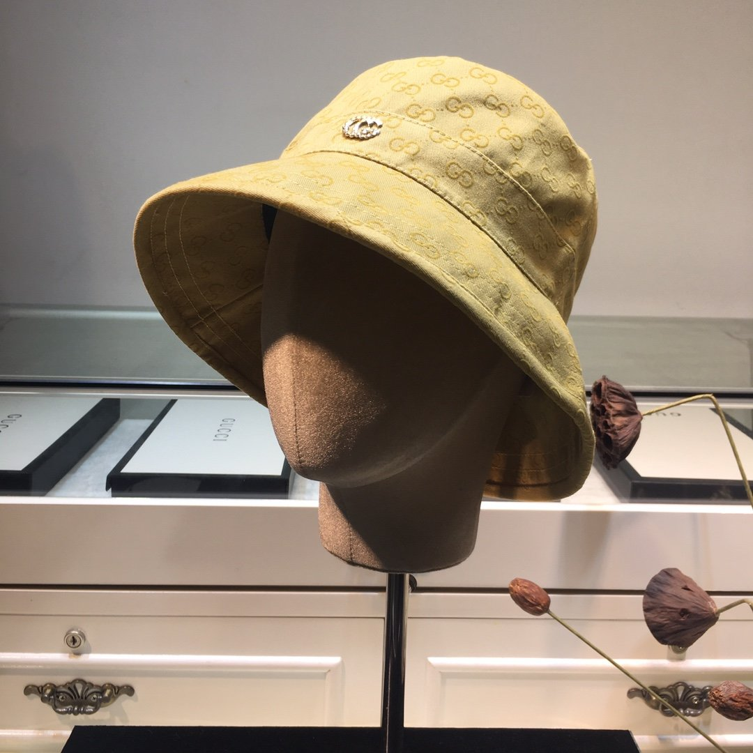 古奇GUCCI秋季新款渔夫帽原单棒球