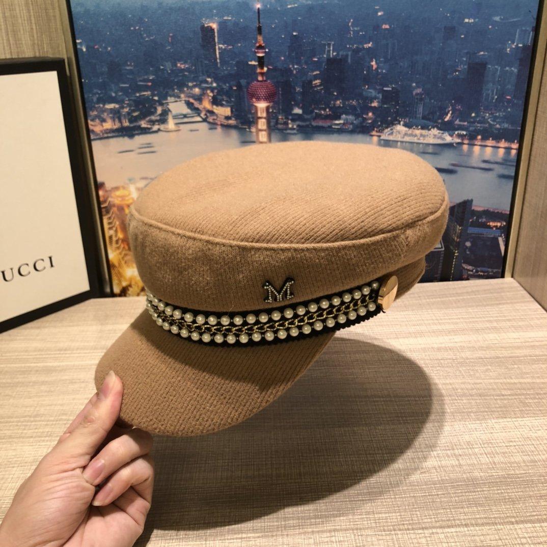 Chanel香奈儿旗下M牌秋冬军帽做
