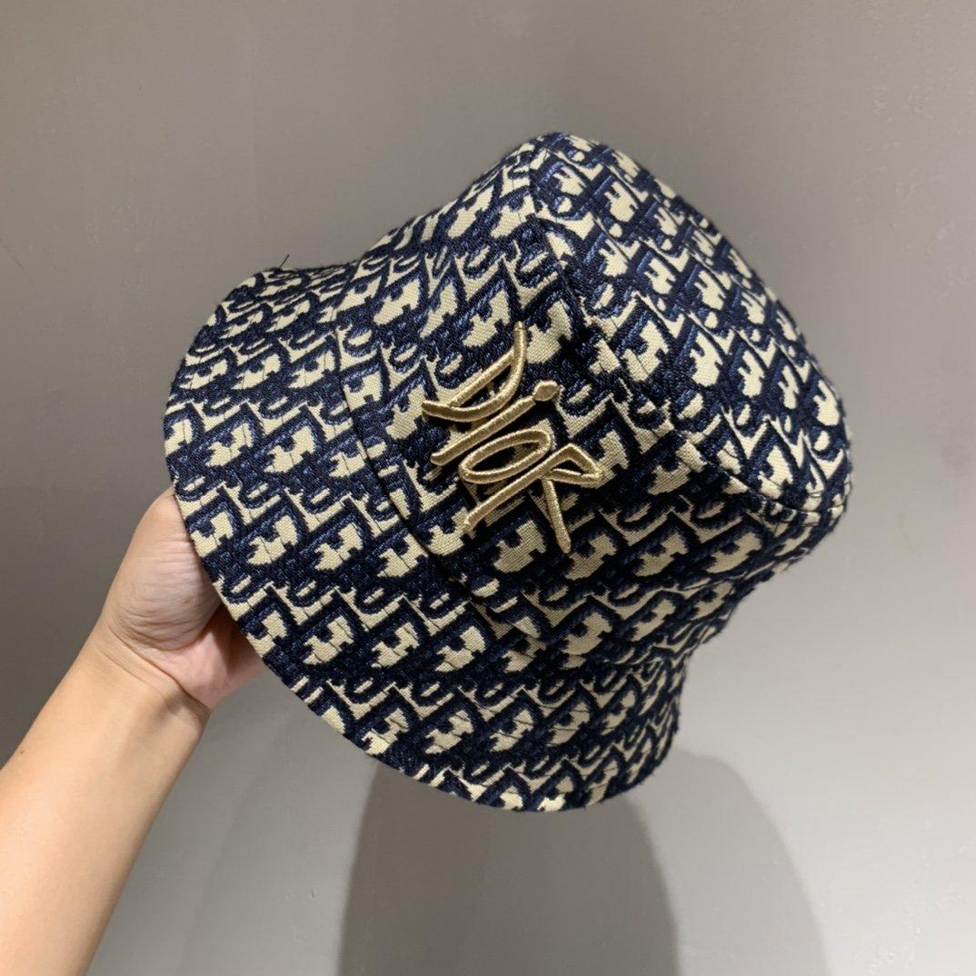 Dior迪奥正品开模渔夫帽官方同步高