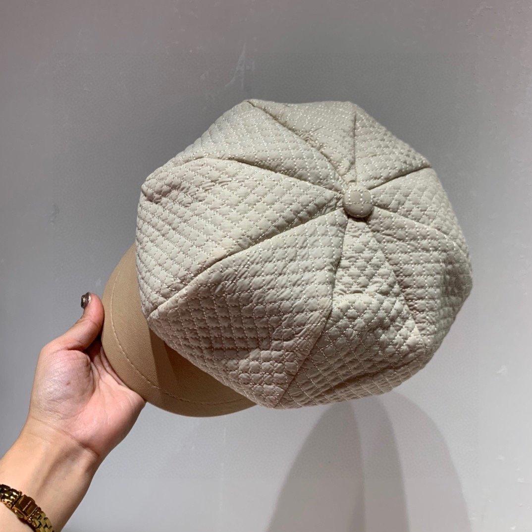 秋款上新Chanel香奈儿八角帽羊毛