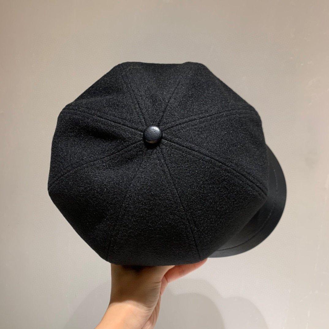 香奈儿旗下M牌八角帽众多明星同款皮贝